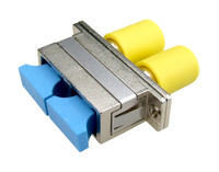 SC to ST Duplex Single-mode Joiner