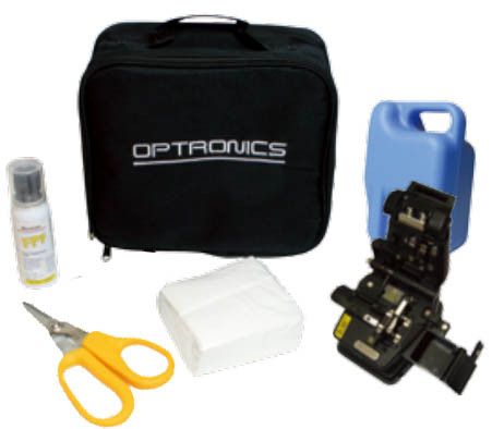 OPTRONICS Field Install Connector Preparation Kit and Inspection Kit