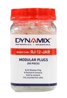 RJ-12 Plug 200pc Jar 6P6C Modular Plug