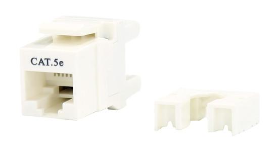 cat5e keystone rj-45 jack for 110 face plate