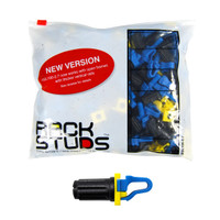 RACKSTUDS 100 pack - Blue (Works with 2.7mm Rail)