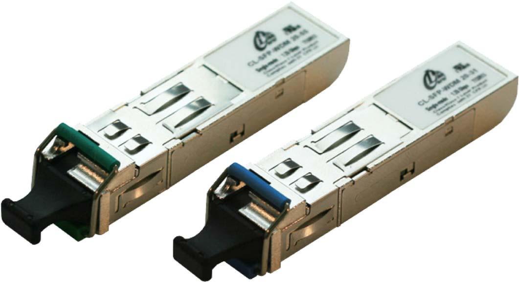 1.25G Singlemode WDM SFP LC Modules Distance 3KM - HP & Generic Brand Compatible
