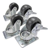 Cabinet Castor Wheels 4pk
