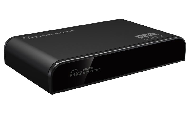 4K 1 in 2 out HDMI Splitter