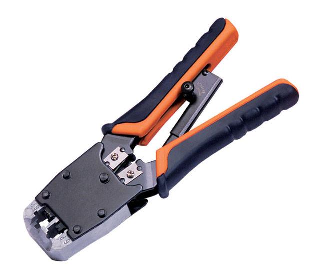 RJ-45/ RJ12/RJ11 Modular Crimping Tool