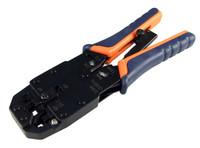 RJ-45/ RJ12/RJ11/DEC Modular Crimping Tool