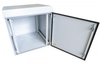 12RU Outdoor Dust Proof Wall Mount Server Rack Cabinet Non-Vented IP65