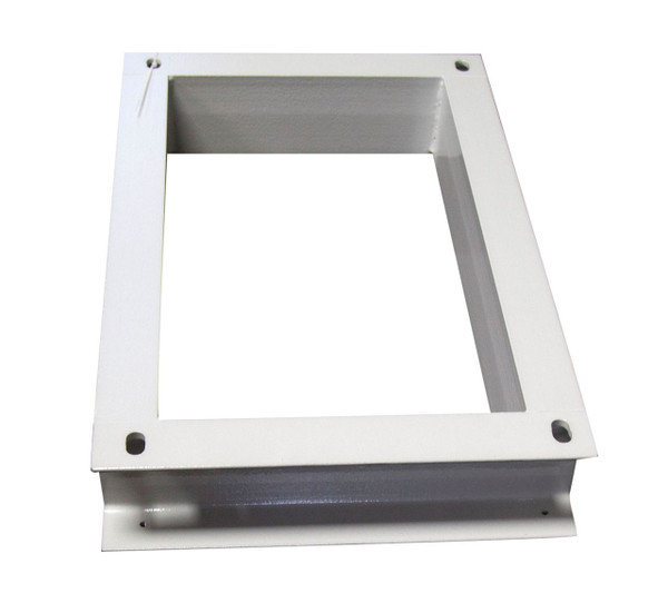 Floor Mount Plinth for 400mm Deep Outdoor Wall Mount Cabinet