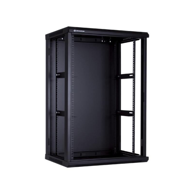 18RU Wall Mount Cabinet, Flat Pack, Linkbasic