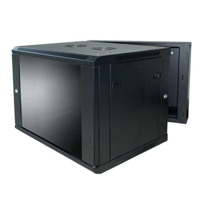 9RU Wall Mount Server Rack Hinged, Linkbasic