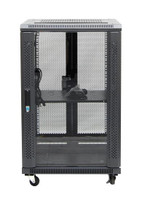 18RU network server rack cabinet 700mm deep - front