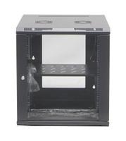 DET Approved 12RU Wall Mount Server Rack Cabinet Hinged front