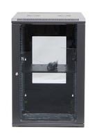 DET Approved 18RU Server Rack Cabinet 600mm Deep Swing Frame
