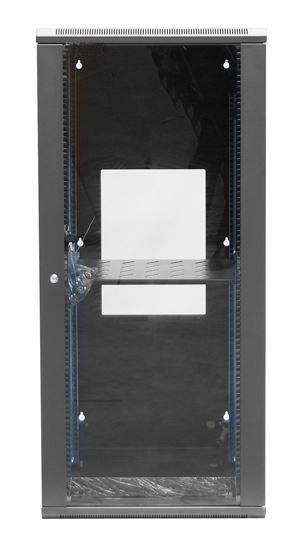 DET Approved 24RU Wall Mount Server Rack Cabinet 600mm Deep Swing Frame