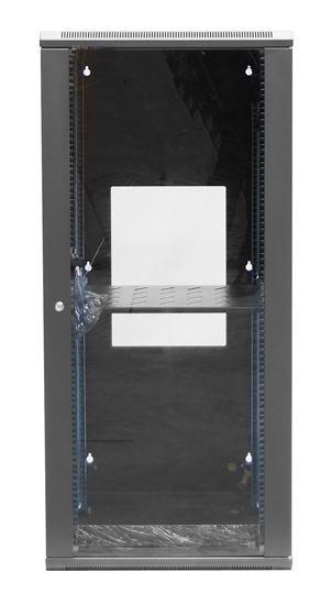 DET Approved 24RU Wall Mount Server Rack Cabinet 600mm Deep Swing Frame