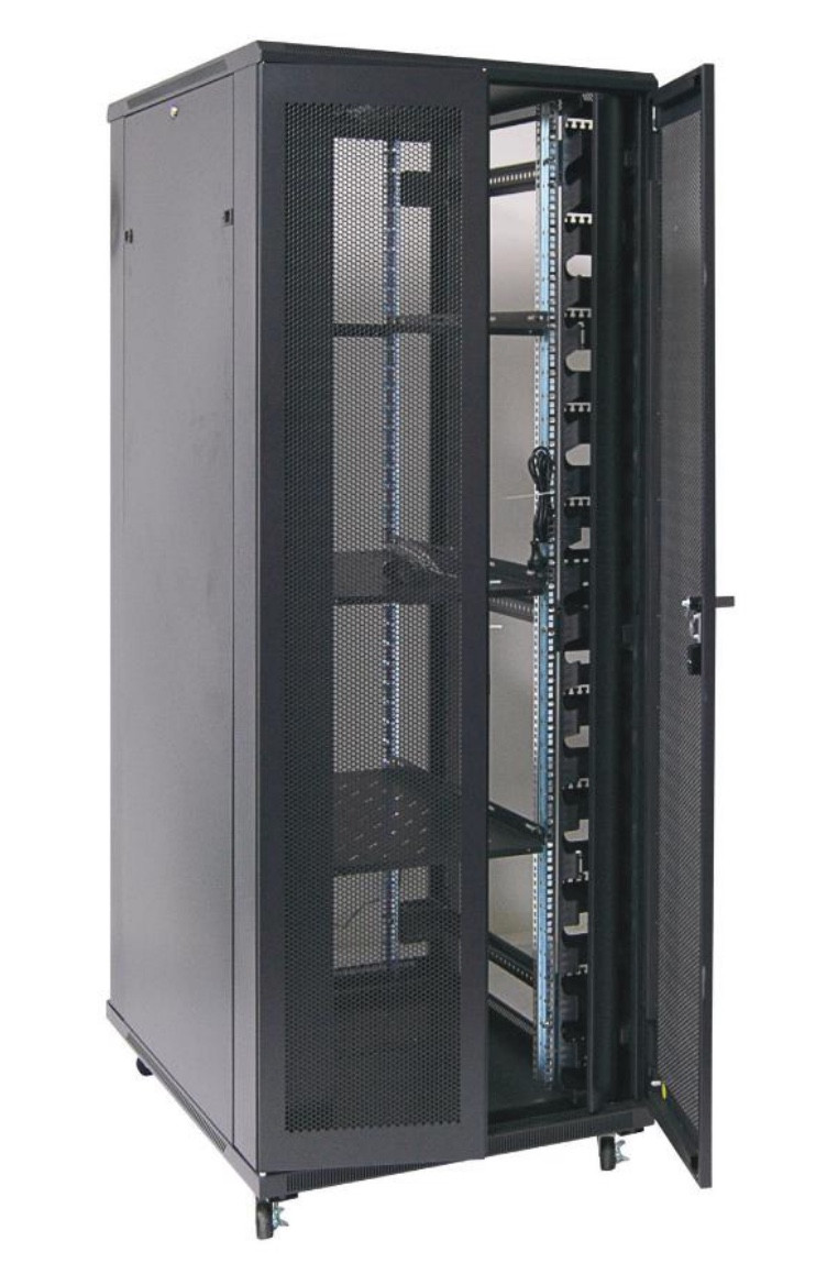 42RU network server rack cabinet 800mm wide, 800mm deep