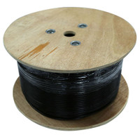 Cat6 305 metre Black F/UTP Solid Gel Filled Outdoor cable