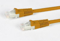 Cat 6 Orange UTP Patch Lead 250MHz