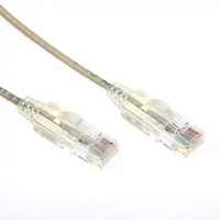 Cat6A UTP Beige Super-Thin Patch Lead