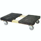 Moving Dolly, carpeted top, hvy duty