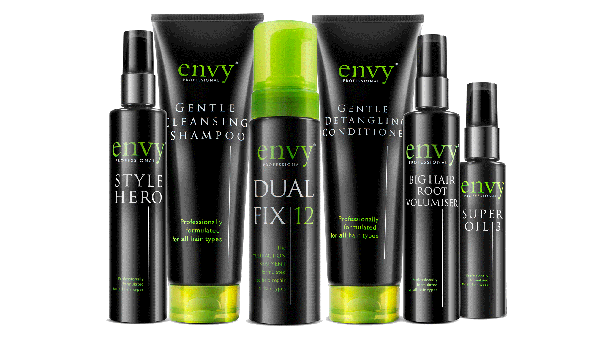 Envy Pro Haircare product range