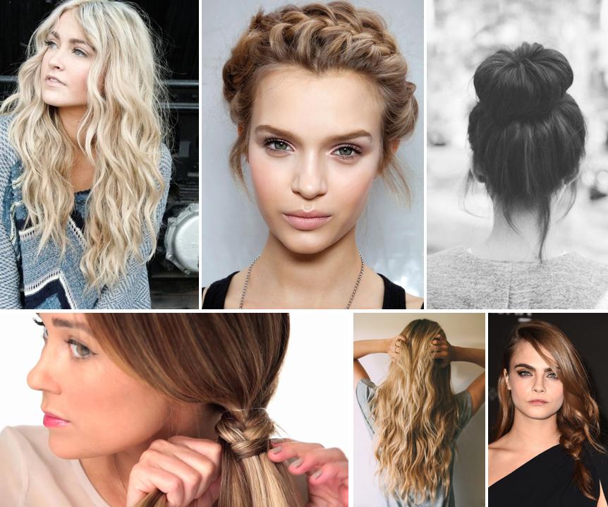 Heat Free Hair Hacks - Cara Delevingne