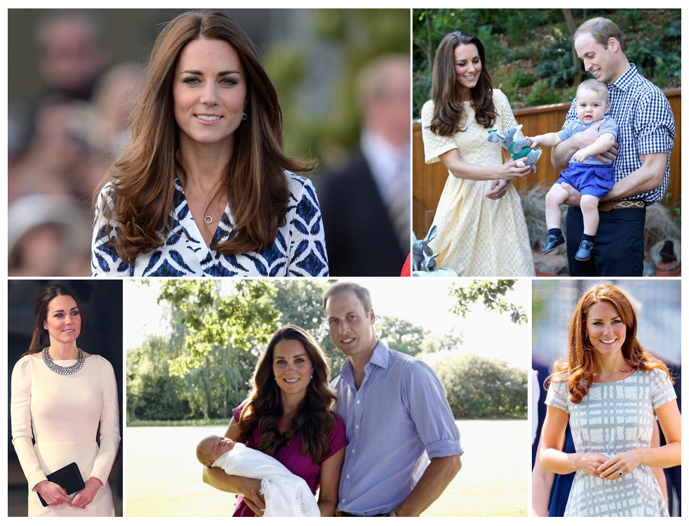 Kate Middleton Different Hairstyles