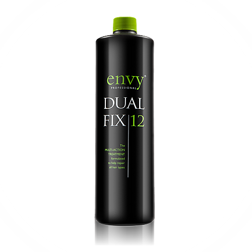 Envy Pro Dual Fix 12 is a multi-action hair repair treatment suitable for all types of hair.