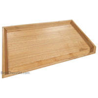Moraga Maple Wood Serving Tray and Food Platter, 16 x 10 x 1 Inch, Small
