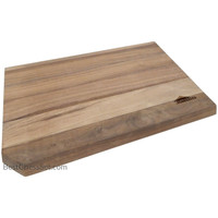 Ortega Reversible Edge Grain Solid Walnut Wood Cutting Board, 16 x 10 x 1 Inch, Medium