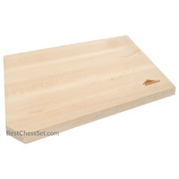 Montgomery Reversible Edge Grain Solid Maple Wood Cutting Board, 16 x 10 x 1 Inch, Medium