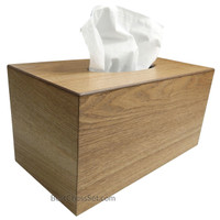 Pacheco Ash Wood Large Deluxe Tissue Paper Box Cover