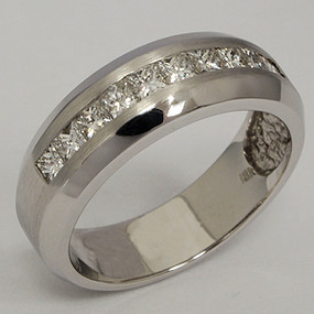 Men's Diamond Wedding Band diawb201-diamond-wedding-band
