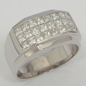 Men's Diamond Wedding Band diawb146