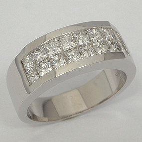 Men's Diamond Wedding Band diawb140