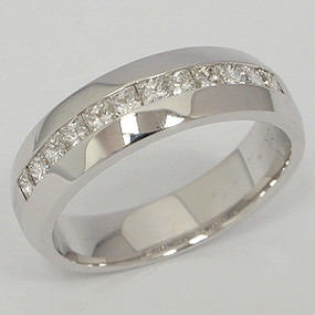 Men's Diamond Wedding Band diawb133
