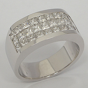 Men's Diamond Wedding Band diawb119