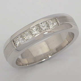 Men's Diamond Wedding Band diawb117