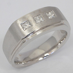Men's Diamond Wedding Band diawb104