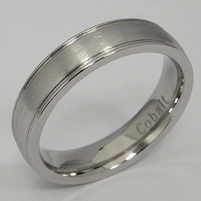 Cobalt Wedding Band cobwb180