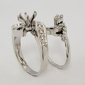 wedding set wedding-ring-set-162
