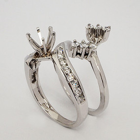 wedding set wedding-ring-set-161