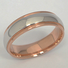 Men's White gold Wedding Band pgwb156-gold-wedding-band
