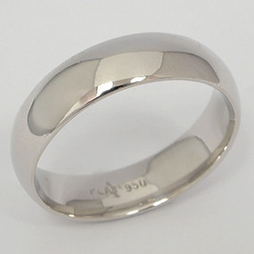 Platinum Wedding Band ptwb144
