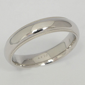 Platinum Wedding Band ptwb143