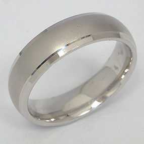 Men's White gold Wedding Band pgwb112-gold-wedding-band