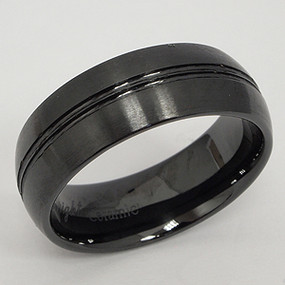 Men's Ceramic Wedding Band