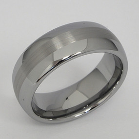 Men's Tungsten Wedding Band tung145-tungsten-wedding-band