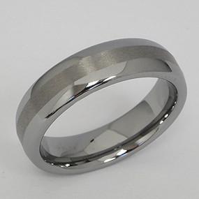 Men's Tungsten Wedding Band tung144-tungsten-wedding-band