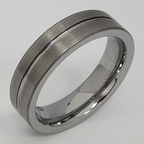 Men's Tungsten Wedding Band tung143-tungsten-wedding-band